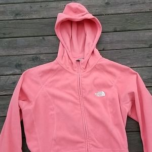 The North Face 100 full zip hooded sweater